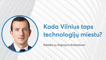 Virginijus Sinkevičius' Meeting with the Startup Community