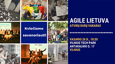 Agile Lithuania Open Door Evening