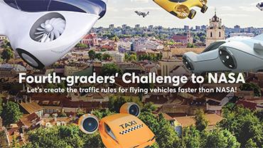 Fourth-graders' Challenge to NASA | Ketvirtokų iššūkis NASA'i