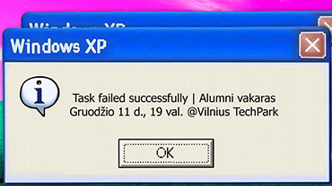 Task failed successfully | Alumni evening